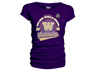 Washington Huskies 2018 NCAA Women's College World Series Script Team T-Shirt