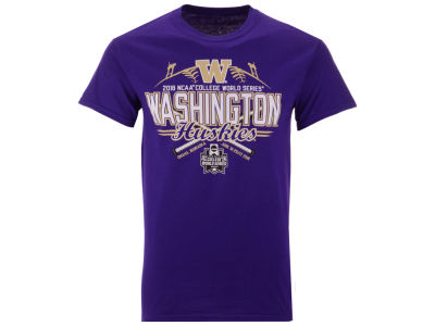 Washington Huskies 2018 NCAA Youth College World Series Home Team T-Shirt