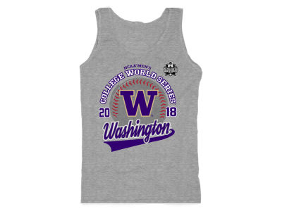 Washington Huskies 2018 NCAA Women's College World Series Script Tank