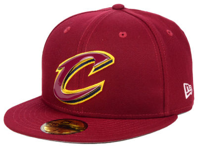 Cleveland Cavaliers New Era NBA Metal Mash Up 59FIFTY Cap