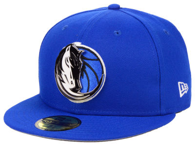 Dallas Mavericks New Era NBA Metal Mash Up 59FIFTY Cap