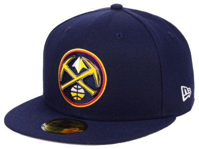 Denver Nuggets New Era NBA Metal Mash Up 59FIFTY Cap