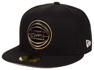 new product 871a6 b7da1 Detroit Pistons New Era NBA Metal Mash Up 59FIFTY Cap