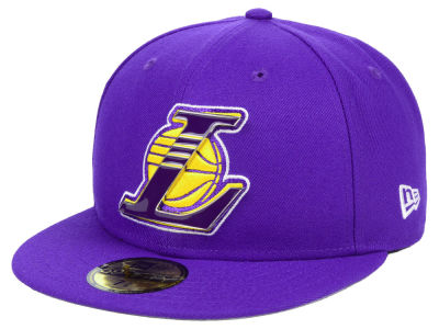 low priced 40669 75643 ... best price los angeles lakers new era nba metal mash up 59fifty cap  a06ef 55dc9
