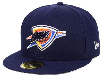 Oklahoma City Thunder New Era NBA Metal Mash Up 59FIFTY Cap 38f559c1cc7c