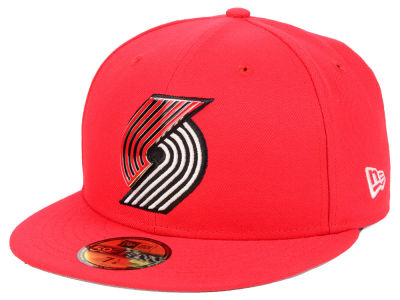 Portland Trail Blazers New Era NBA Metal Mash Up 59FIFTY Cap