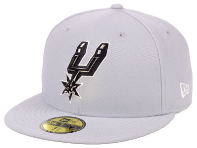 San Antonio Spurs New Era NBA Metal Mash Up 59FIFTY Cap