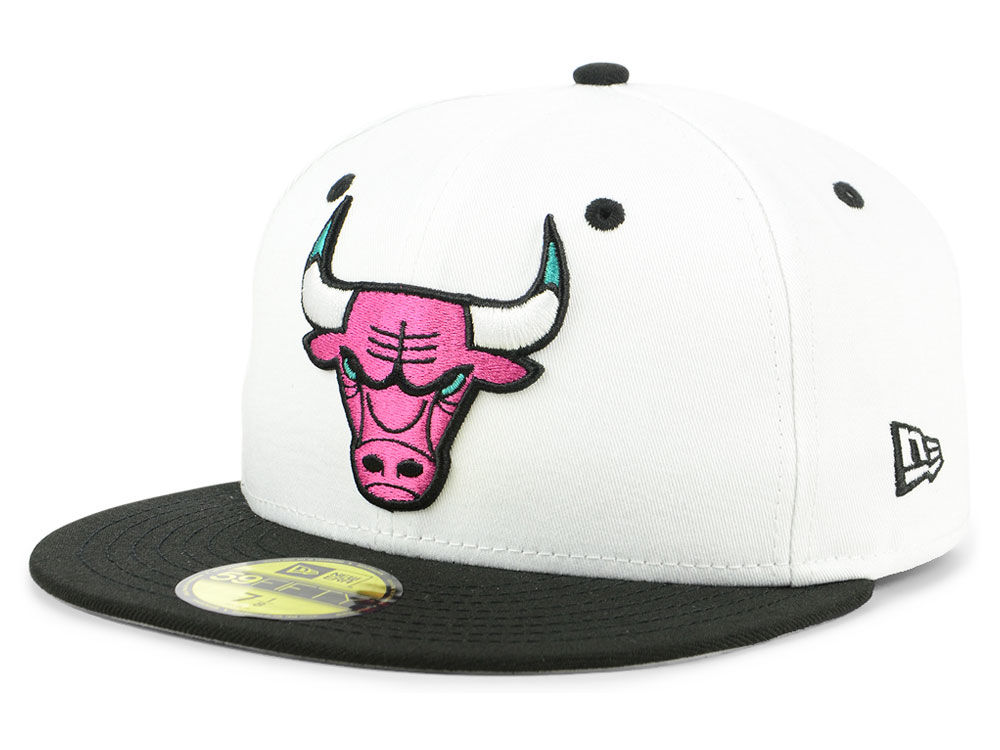 368e9d3e300 Chicago Bulls New Era NBA 90 s Throwback 59FIFTY Cap