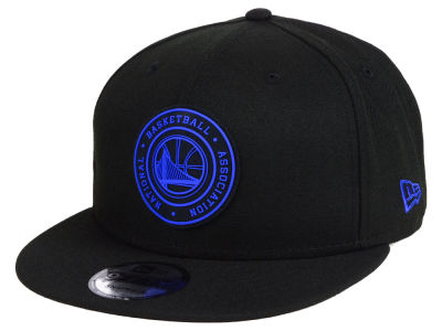 Golden State Warriors New Era NBA Circular 9FIFTY Snapback Cap