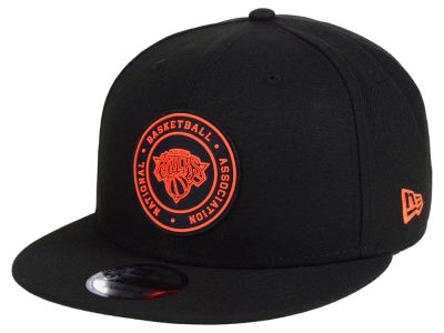 New York Knicks New Era NBA Circular 9FIFTY Snapback Cap