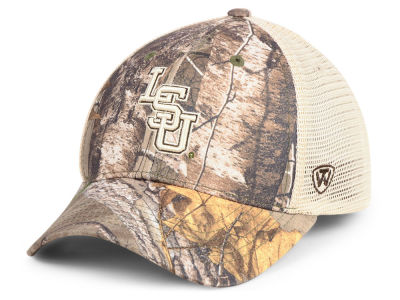 LSU Tigers Top of the World NCAA Prey Meshback Camo Cap