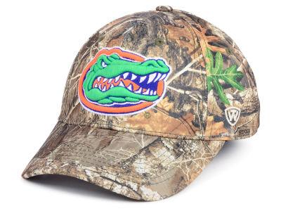 d4a276866a7 Florida Gators Top of the World NCAA Berma Camo Flex Cap