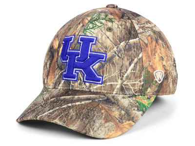 Kentucky Wildcats Top of the World NCAA Berma Camo Flex Cap
