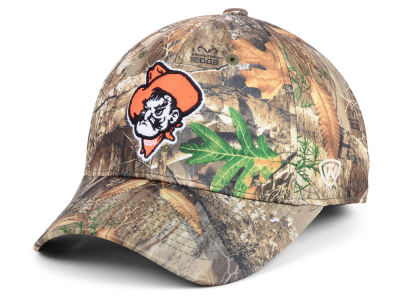 Oklahoma State Cowboys Top of the World NCAA Berma Camo Flex Cap