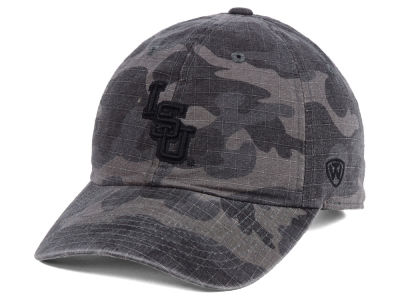 LSU Tigers Top of the World NCAA Woodland Knight Cap