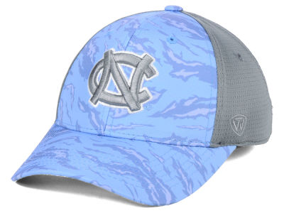 outlet store e75e7 5ecad ... usa north carolina tar heels top of the world ncaa tiger camo flex cap  950f9 0fe13
