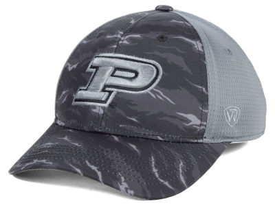 Purdue Boilermakers Top of the World NCAA Tiger Camo Flex Cap