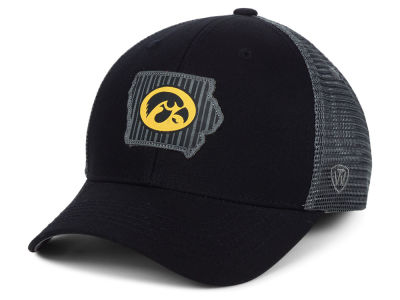 Iowa Hawkeyes Top of the World NCAA Back the School Flag Trucker Cap