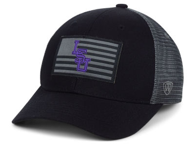 LSU Tigers Top of the World NCAA Back the School Flag Trucker Cap