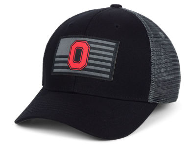 Ohio State Buckeyes Top of the World NCAA Back the School Flag Trucker Cap