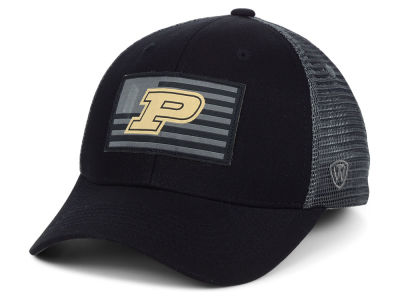 Purdue Boilermakers Top of the World NCAA Back the School Flag Trucker Cap