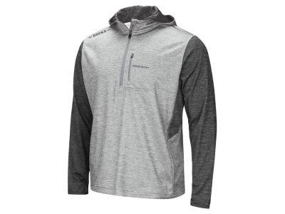 Oregon Ducks Colosseum NCAA Men's Reflective Quarter Zip Pullover