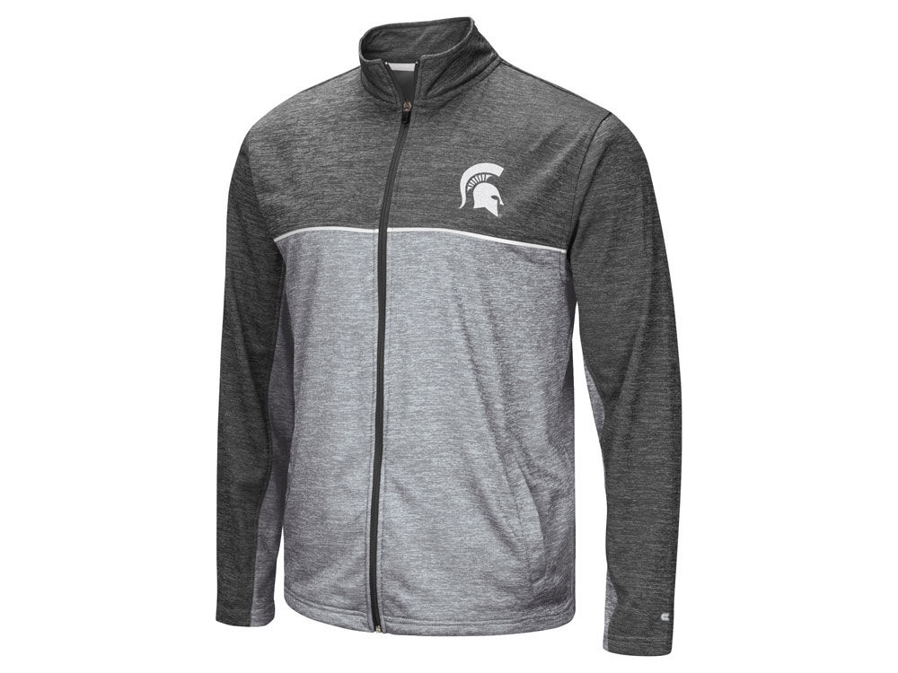 Michigan State Spartans Colosseum NCAA Men s Reflective Full Zip Jacket  1807c3b02