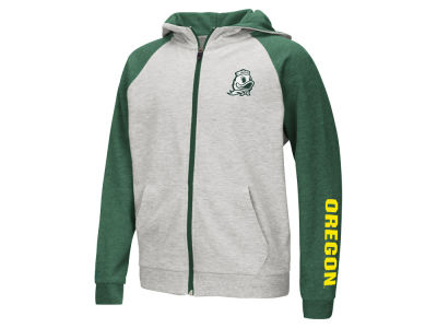 Oregon Ducks Colosseum NCAA Youth Full Zip Hooded Sweatshirt