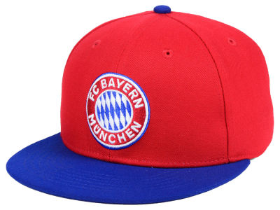 Bayern Munich Fan Ink Club Team Fi Fitted Cap