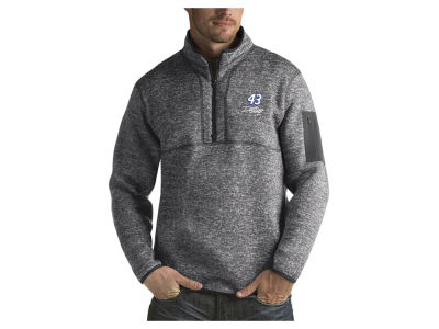 Nascar Logo Bubba Wallace Men's Fortune Quarter Zip Pullover
