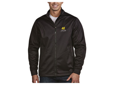 Nascar Logo Jimmie Johnson Men's Golf Jacket
