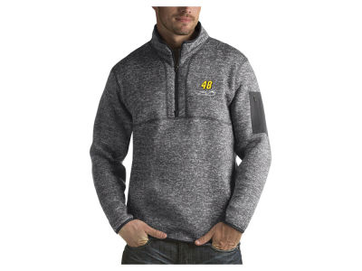 Nascar Logo Jimmie Johnson Men's Fortune Quarter Zip Pullover