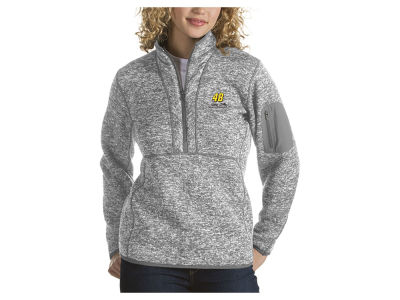 Nascar Logo Jimmie Johnson Women's Fortune Quarter Zip Pullover