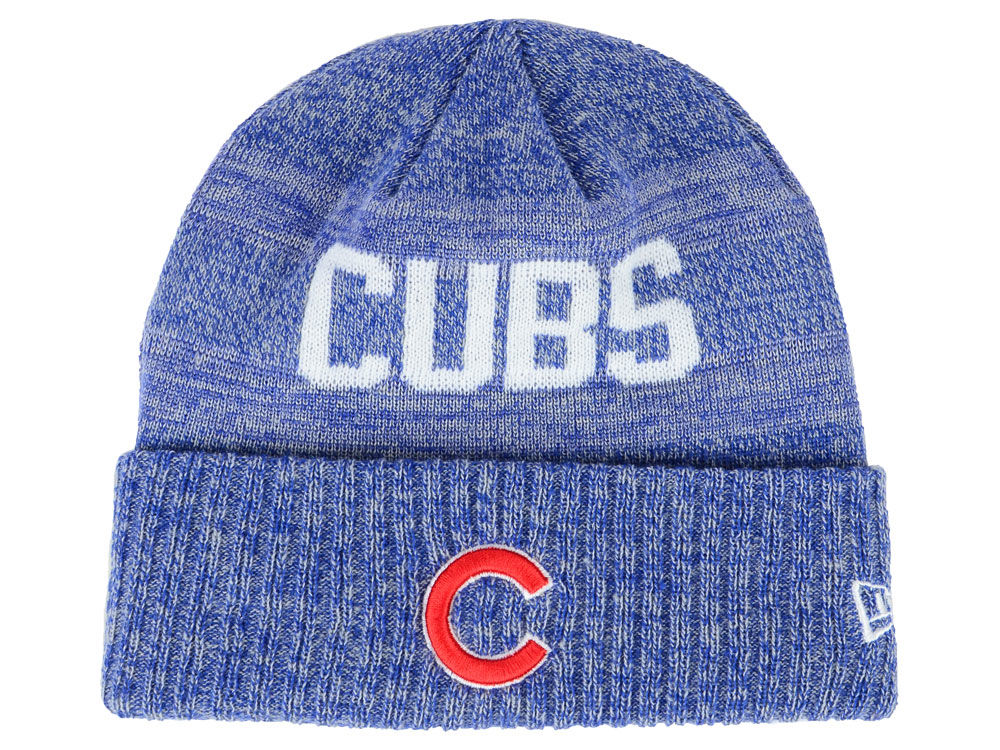 f4bfd7bce28 Chicago Cubs New Era MLB Crisp Color Cuff Knit