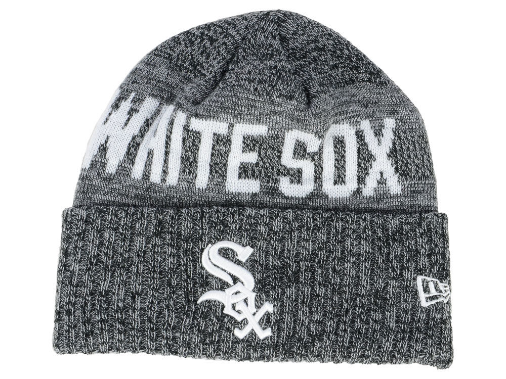7f043230c1c5cf order chicago white sox knit cuffed beanie 3fe90 c0453; real chicago white  sox new era mlb crisp color cuff knit e85ae 5d706
