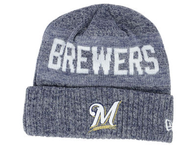 Milwaukee Brewers New Era MLB Crisp Color Cuff Knit