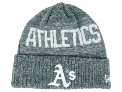 Oakland Athletics New Era MLB Crisp Color Cuff Knit