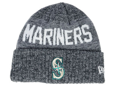 Seattle Mariners New Era MLB Crisp Color Cuff Knit