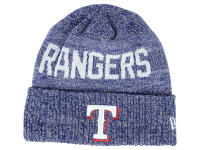 Texas Rangers New Era MLB Crisp Color Cuff Knit