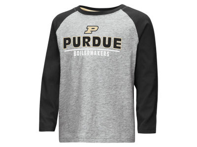 Purdue Boilermakers Colosseum NCAA Toddler Long Sleeve Raglan T-Shirt