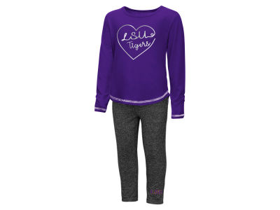 LSU Tigers Colosseum NCAA Toddler Girls Legging Set