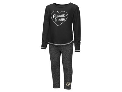Purdue Boilermakers Colosseum NCAA Toddler Girls Legging Set