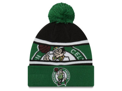 Boston Celtics New Era NBA Youth Callout Pom Knit