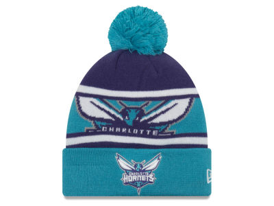 Charlotte Hornets New Era NBA Youth Callout Pom Knit