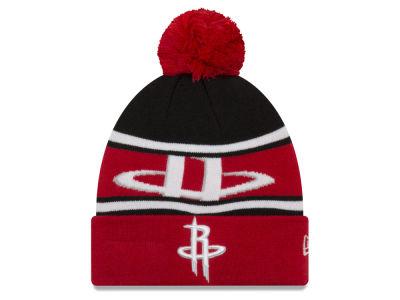 Houston Rockets New Era NBA Youth Callout Pom Knit 15a6a809046