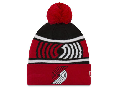 Portland Trail Blazers New Era NBA Youth Callout Pom Knit