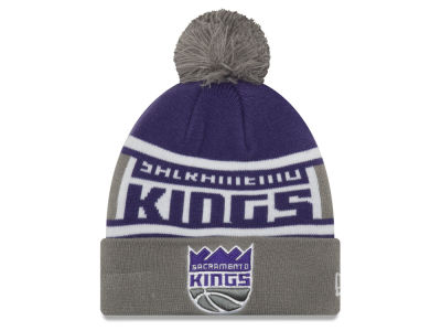 Sacramento Kings New Era NBA Youth Callout Pom Knit