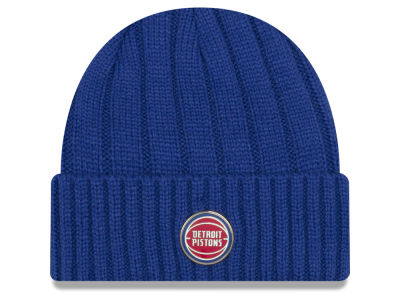 Detroit Pistons New Era NBA Metal Cuffed Knit