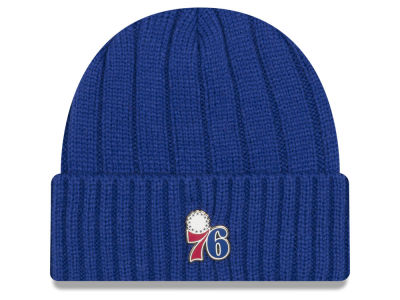 Philadelphia 76ers New Era NBA Metal Cuffed Knit