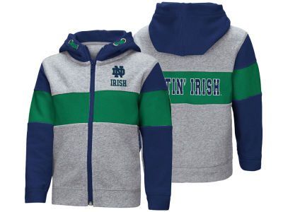 Notre Dame Fighting Irish Colosseum NCAA Toddler Colorblocked Full Zip Sweatshirt